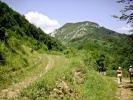 Када се пролази цео кањон, онда продужавамо десно, на доле