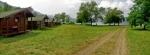 У бунгаловима, или шаторима код Томе