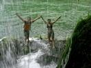 Фића и ја пред водопадом