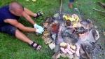Али смо прво морали да дотерамо ринглу и ставимо вечеру на тихој ватри
