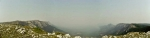 Јутарња панорама Суве са чика Данетових ливада