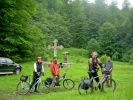И бициклисти су га много боље познавали и зато сам једном кренула сам њима, са улогом таксисте