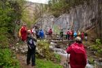Стазом испод манастира дођосмо до мостића и кањона Витовнице